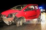 2012-04-12 Verkehrsunfall Betzenweiler-Moosburg  - 2012 Thomas Warnack
